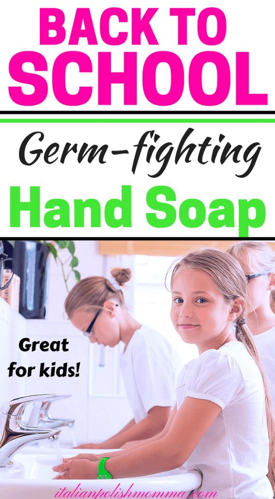 Germ Fighting Diy Foaming Hand Soap Italianpolishmomma Com