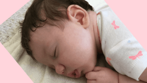 calm a baby with colic