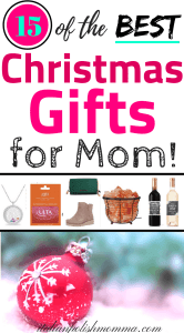 Best Christmas Gifts for mom