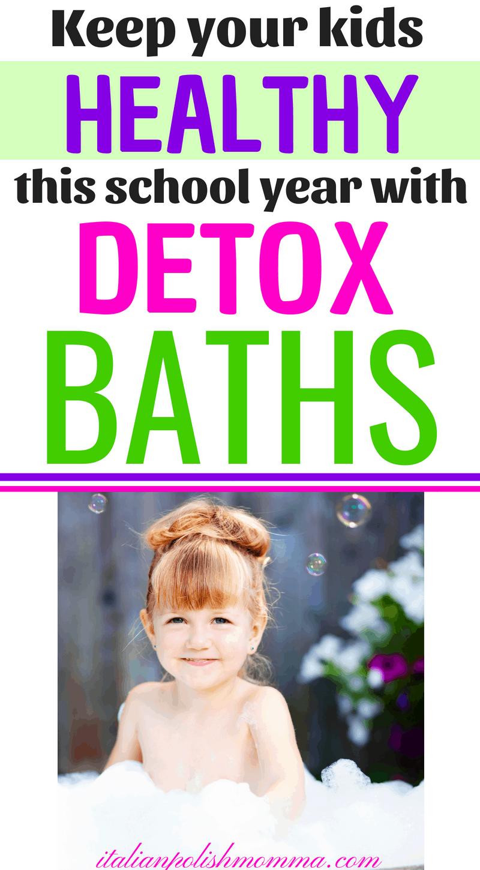 Immune Boosting Magnesium Baths For Kids