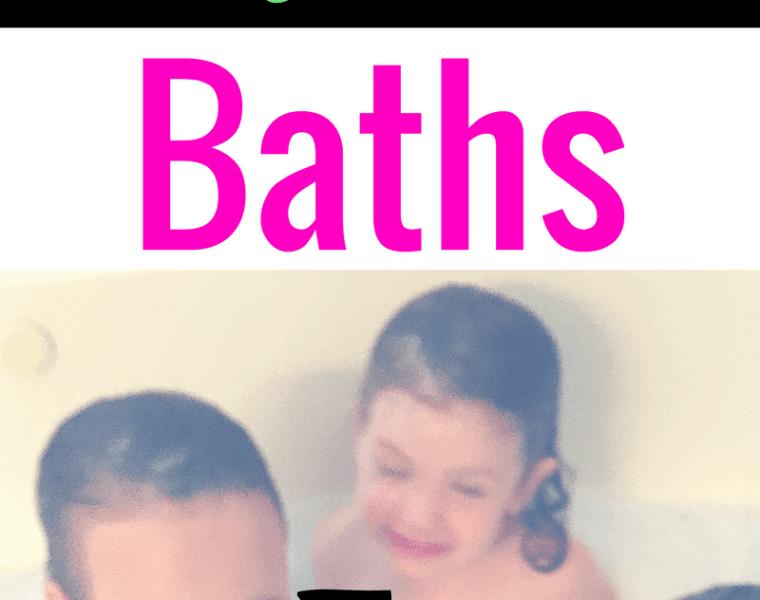 Immune boosting magnesium baths fro kids