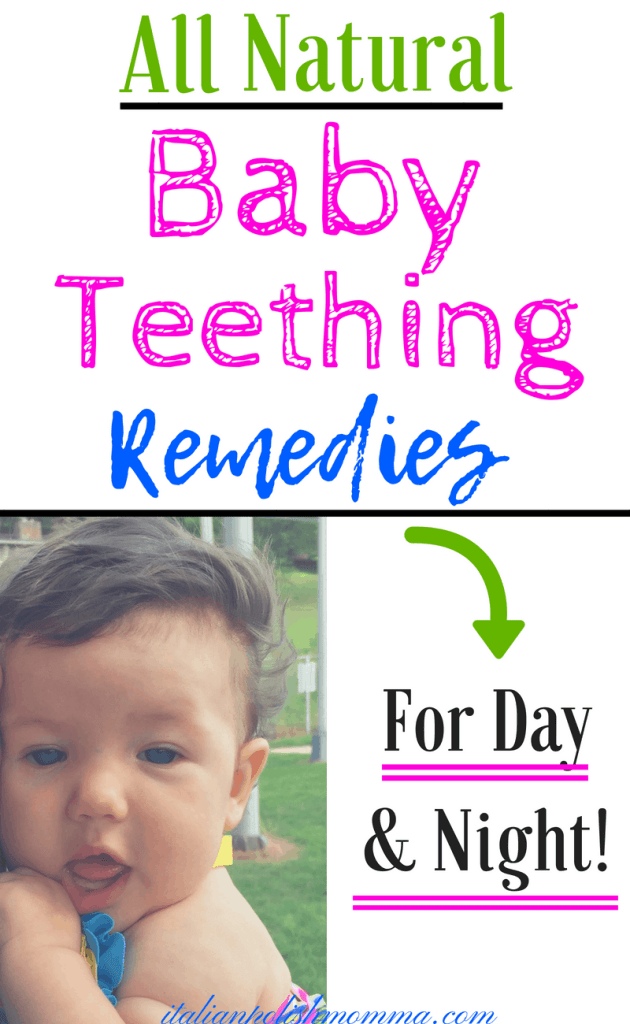 All natural baby teething remedies