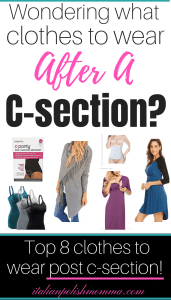 Clothes after c-section