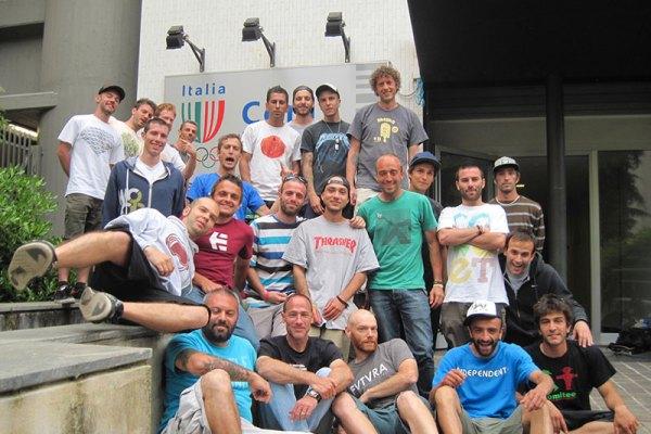 Istruttori skateboard FIHP 2013