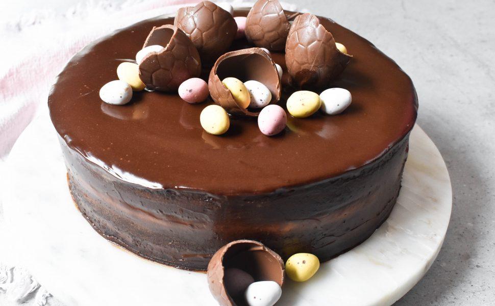 Chocolate Easter Cake Italian Spoon
