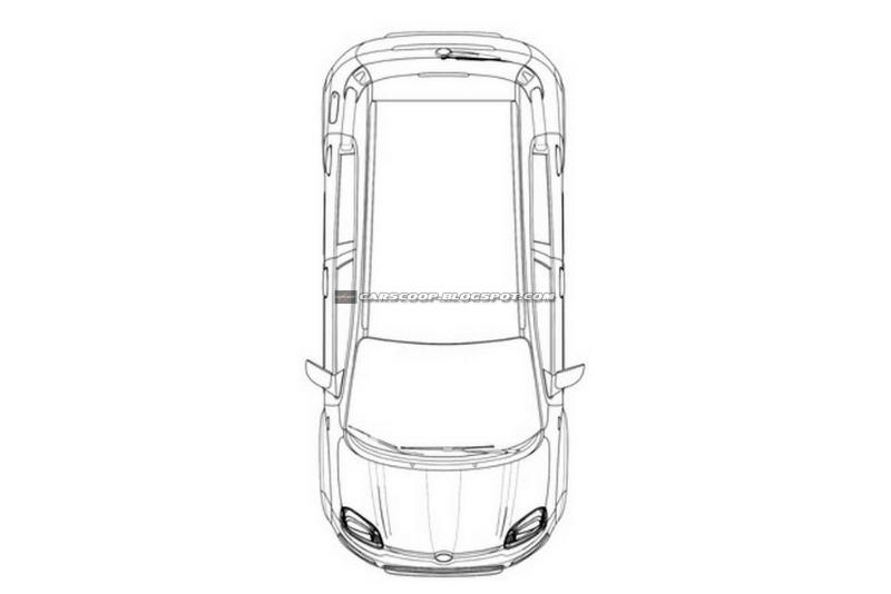 Nuova Fiat Panda 4x4: immagini dei brevetti della versione
