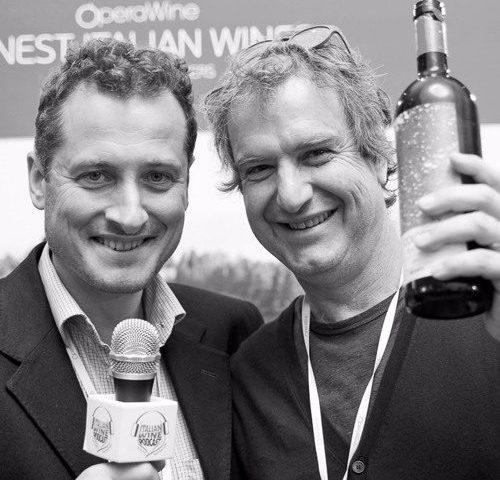 Bibi Graetz of Bibi Graetz Winery with Monty Waldin