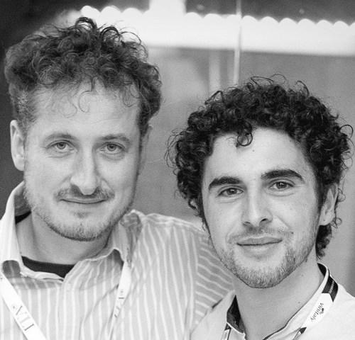 Monty Waldin with Stefano Quaglierini @italianwines