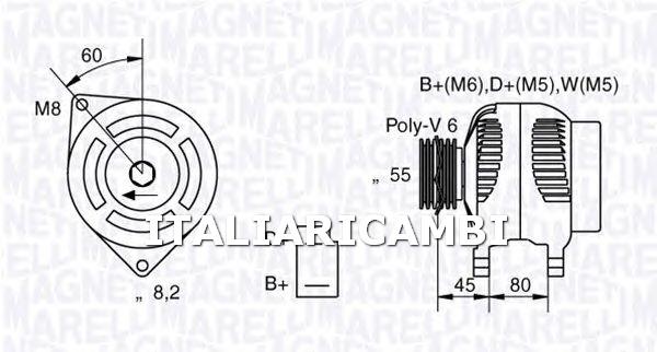 [Get 43+] Alternatore Magneti Marelli Schema Elettrico