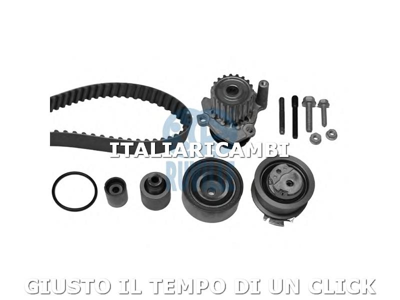 Kit Distribuzione + Pompa Acqua Ruville 56340701 VW GOLF