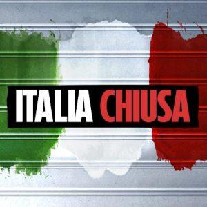 ITALIA CHIUSA FINO AL 3 MAGGIO