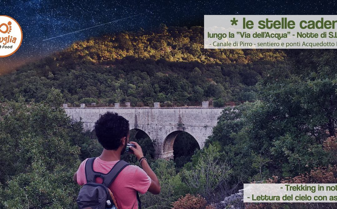 Le stelle cadenti lungo la via dell'acqua – Acquedotto C.Pirro