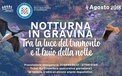 Notturna in Gravina – escursione