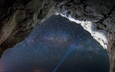 Stelle Cadenti e Grotte Splendenti ~ S.Lorenzo SpeleoTrekNight