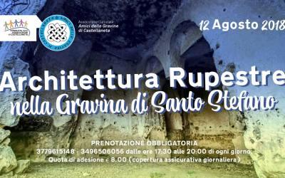 L'Architettura Rupestre nella Gravina di Santo Stefano