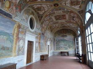 Lazio il giardino di Villa Lante di Bagnaia Viterbo