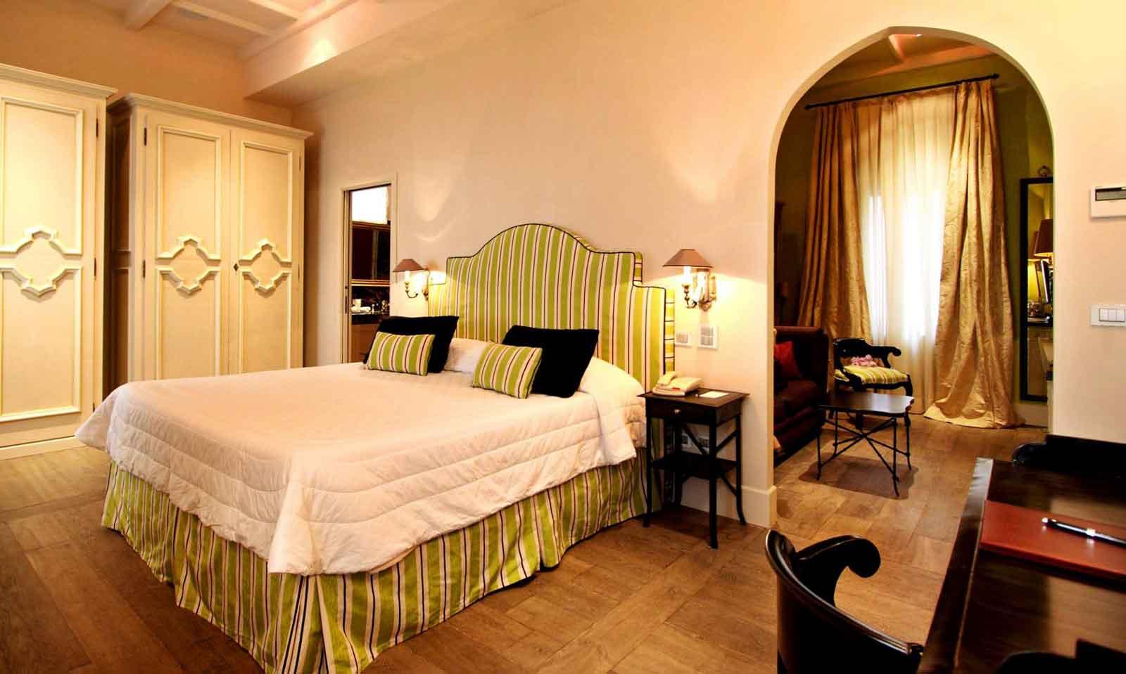 El Jebel Boutique Hotel Taormina, Sicile Italie (chambre)