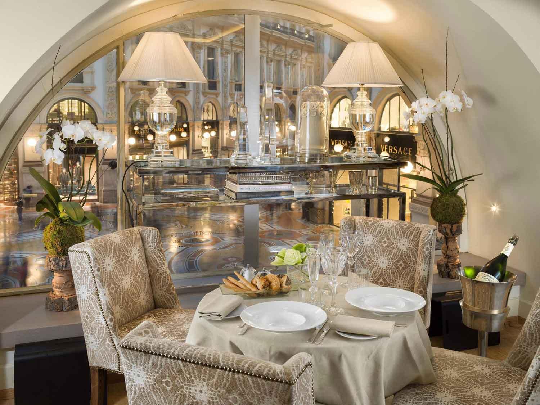 Town House Galleria, hotel de luxe Milan Italie : restaurant