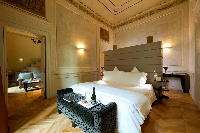 Town House Galleria, hotel de luxe Milan Italie : chambre
