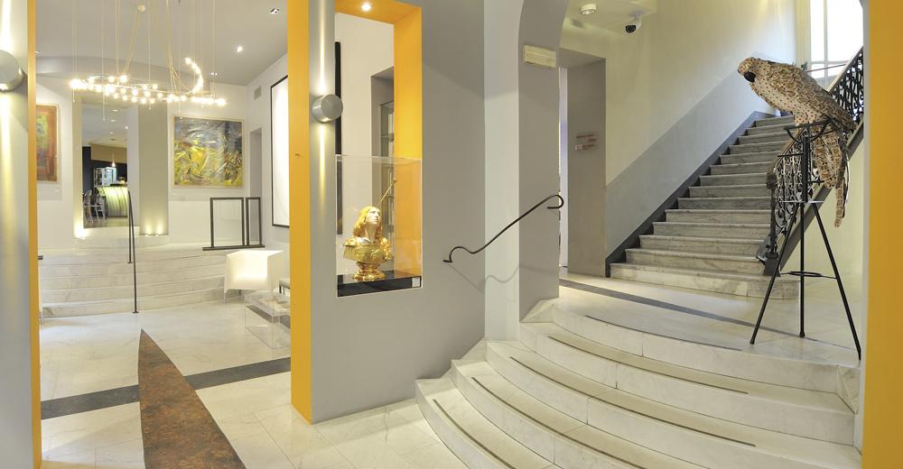 H tel design turin italie art hotel boston torino for Designhotel turin