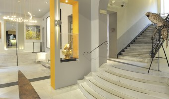 Art Hotel Boston, hôtel design Turin Italie