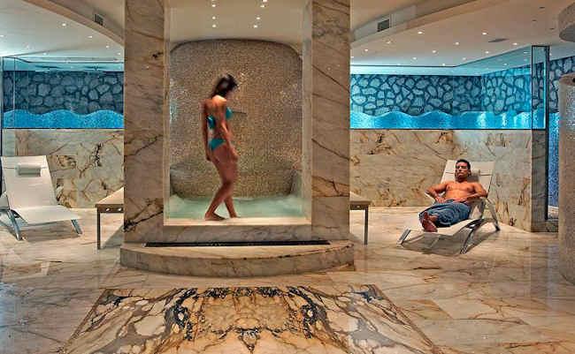 Melia Villa Capri, hotel design : SPA