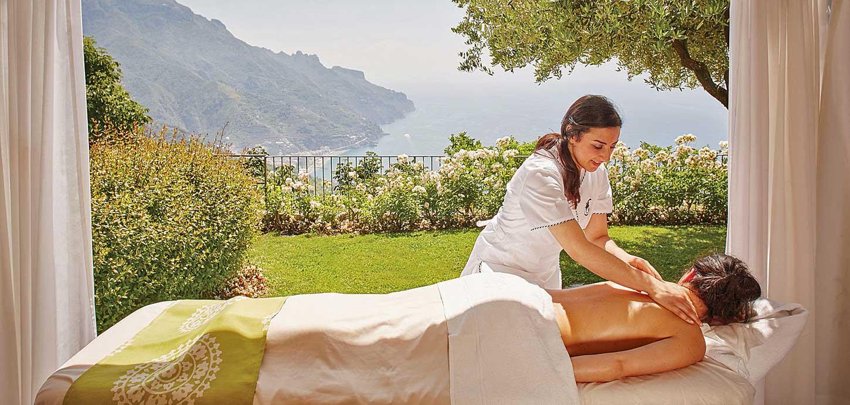 SPA hotel Caruso Ravello, hotel de luxe côte Amalfitaine (Italie)