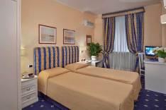 Hotel Napoleon, Rome Italie (chambre twin)