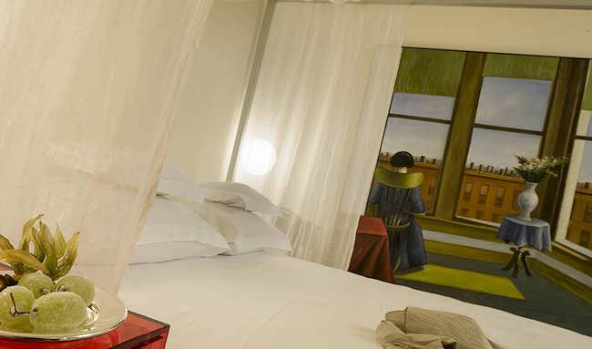 Boutique Hotel Petronilla, Bergamo Italie (chambre double Deluxe)