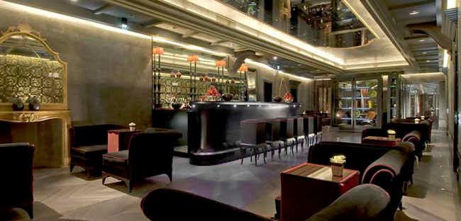 Bar lounge du Palazzo Barbarigo