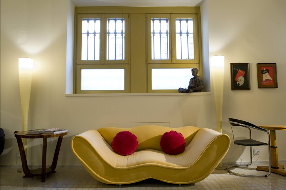 Boutique Hotel Petronilla, Bergamo Italie (lounge)