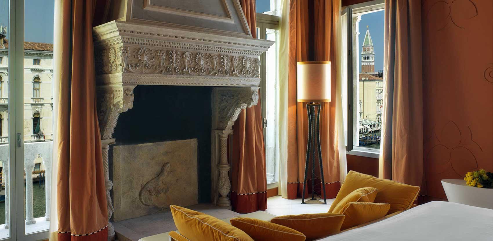 Junior Suite Deluxe avec vue sur le Grand Canal - Centurion Palace Hotel Venise
