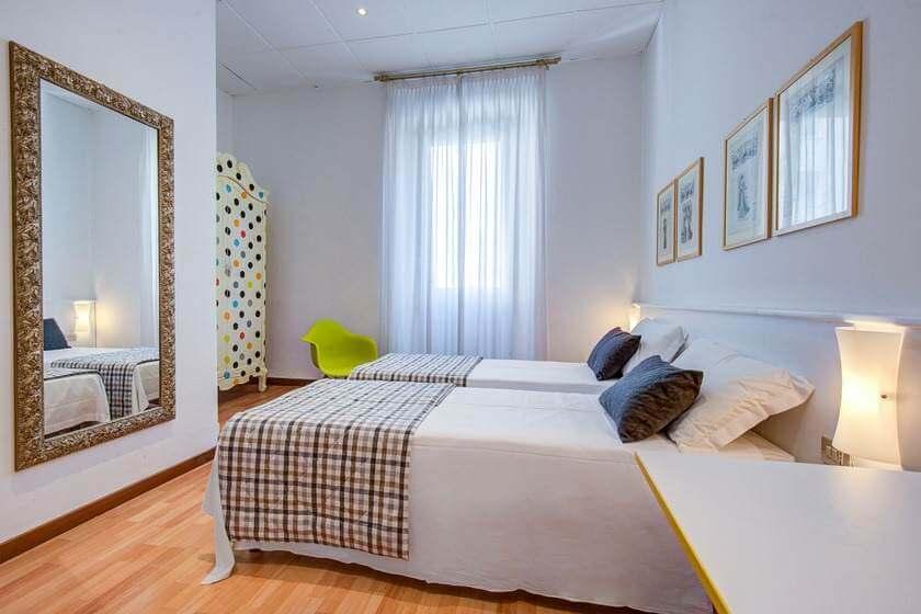 Chambre standard avec deux lits simples (TWIN)