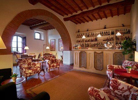 Hotel Le Fontanelle, Pianella - Sienne (Bar)