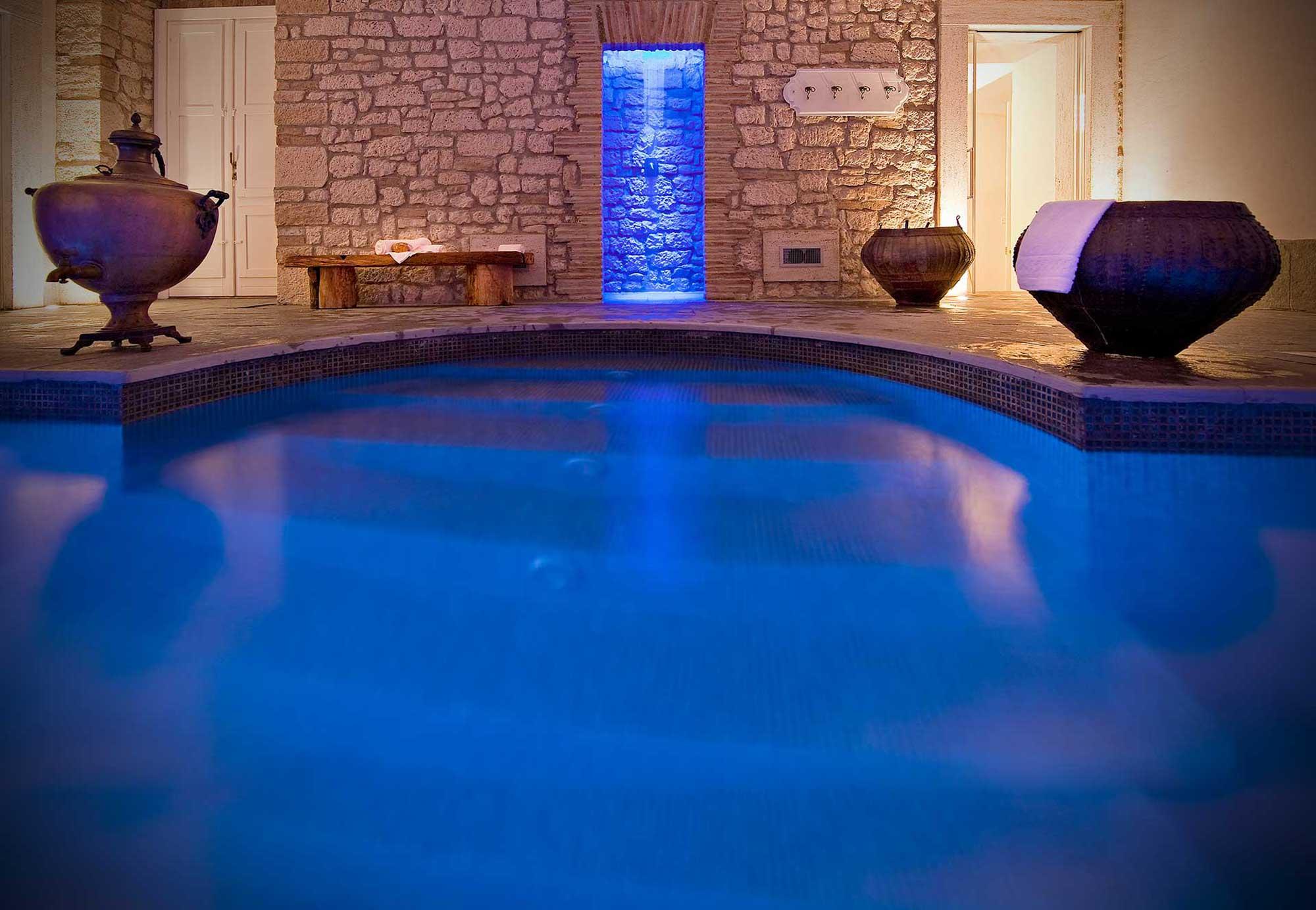 Castello di Montignano, hotel de luxe avec restaurant et SPA en Ombrie