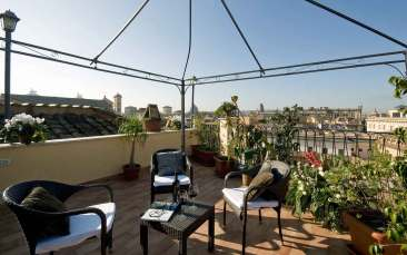 Hotel Trevi Roma : Terrasse panoramique