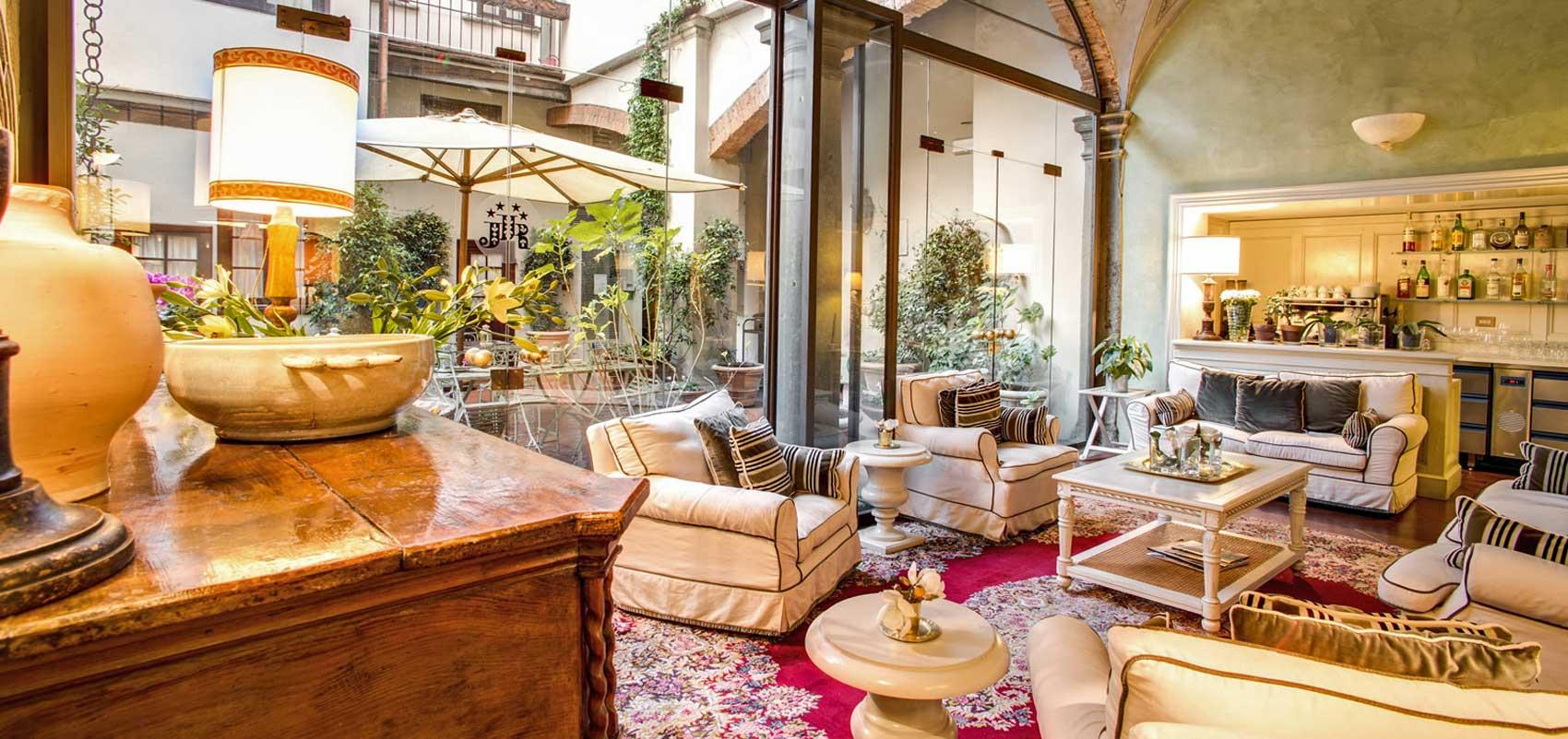 J and J hotel de charme 4 étoiles Florence Italie