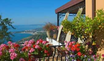Villa Ducale boutique hotel Taormine Sicile, Italie