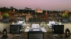 The First Hotel Rome : Restaurant