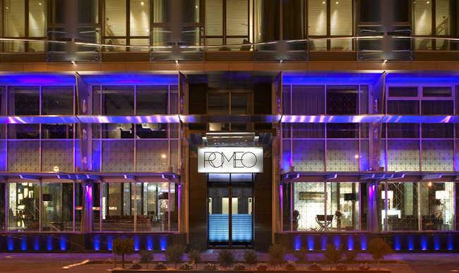 Romeo hotel design Naples