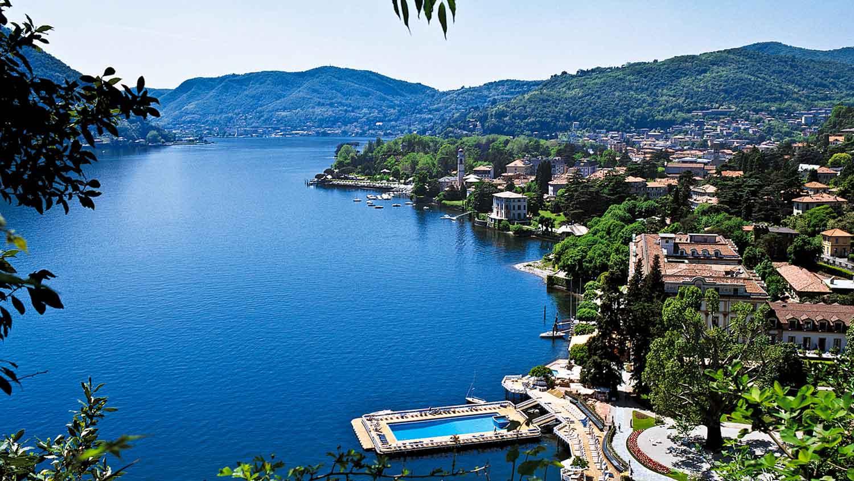 Villa d'Este hotel de luxe lac de Come Italie