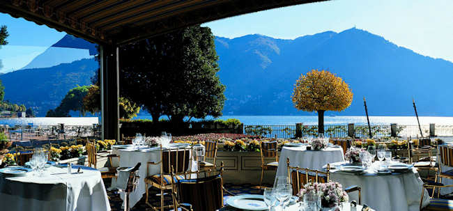 hotel Villa d'Este Cernobbio - lac de Come Italie