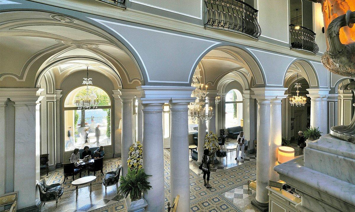H tel de luxe lac de c me italie villa d 39 este cernobbio for Design hotel como