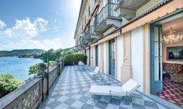 Villa d'Este hotel lac de Come : Suite Cardinal (terrasse)