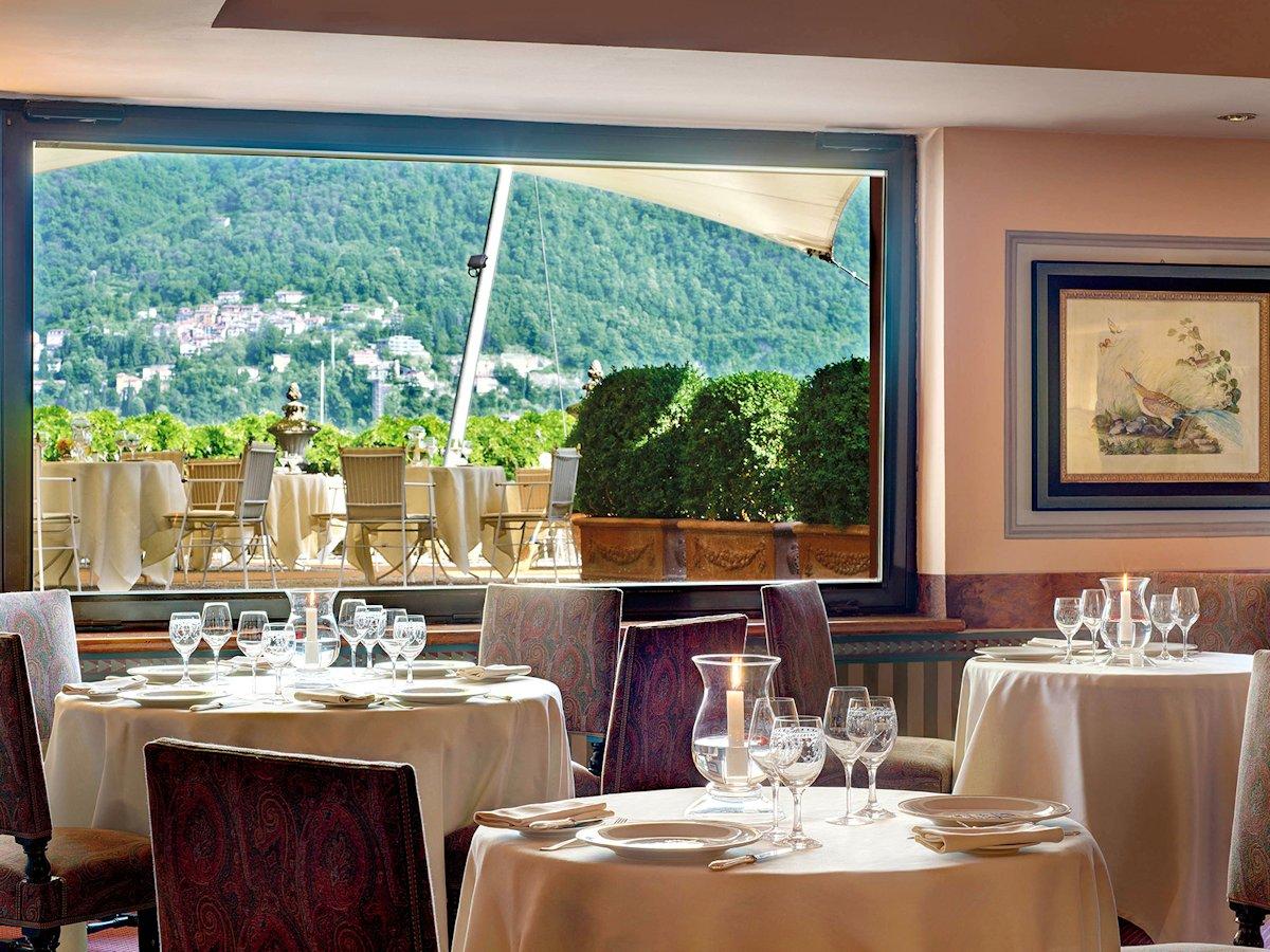 Villa d'Este hotel lac de Come: Restaurant