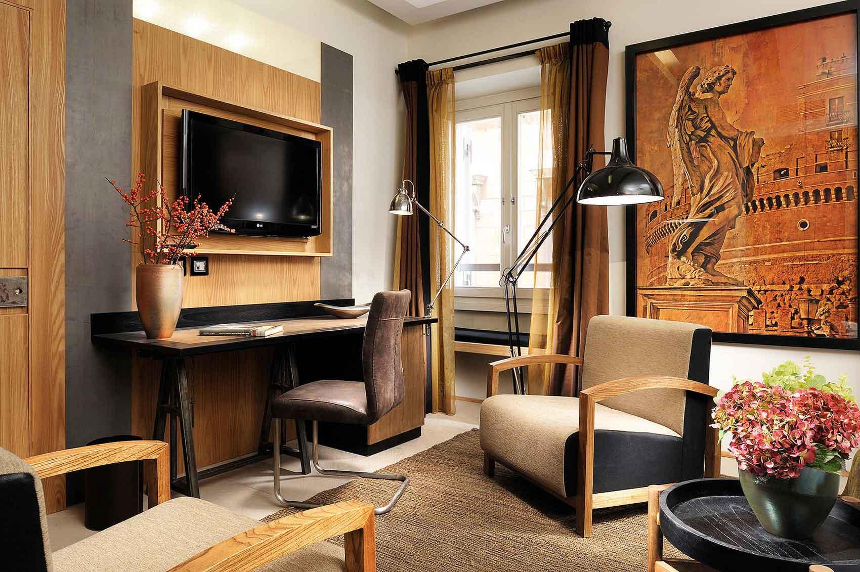 Babuino 181, boutique hotel Rome Italie (chambre, suite)
