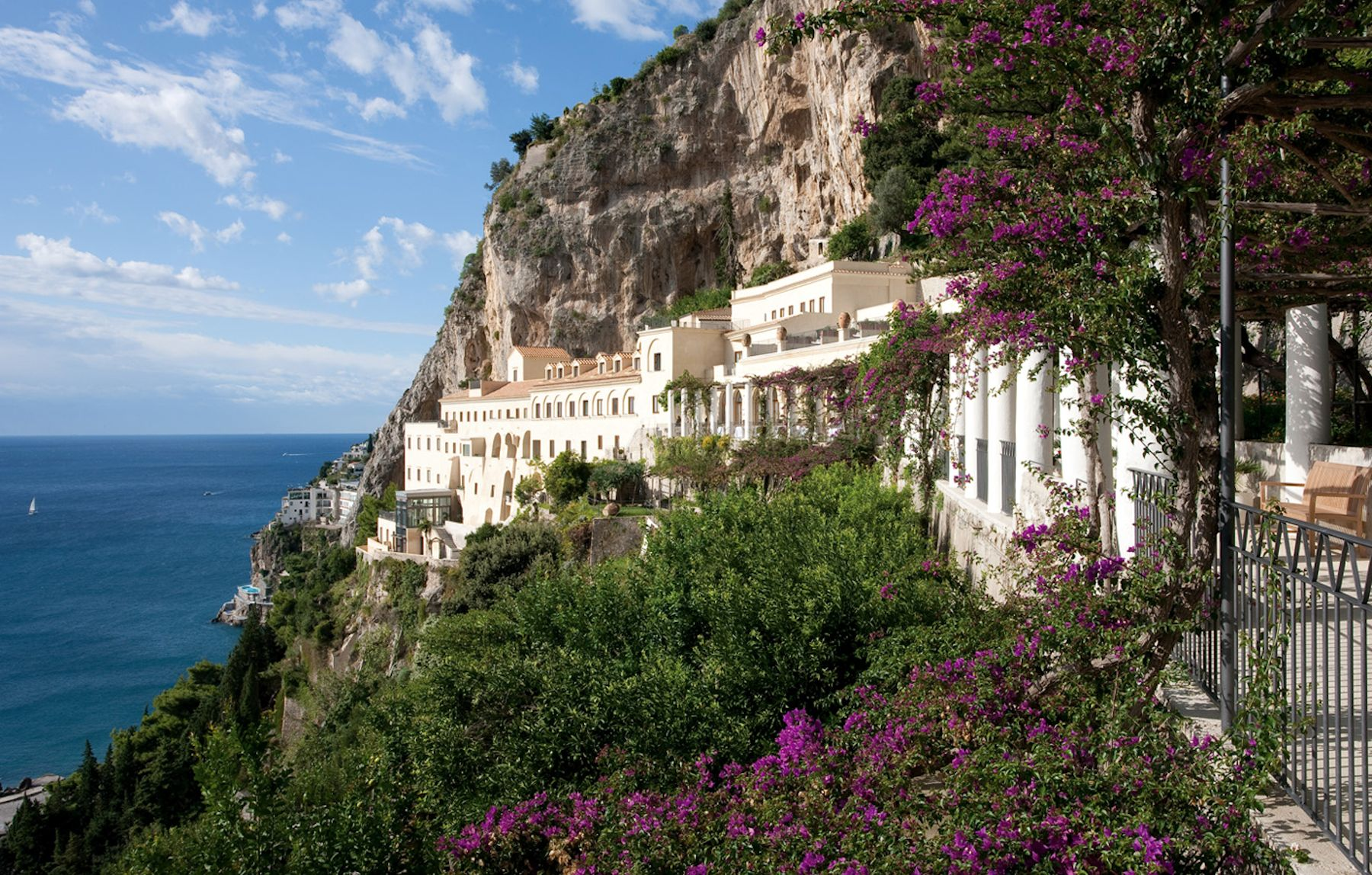 Grand Hotel Convento di Amalfi Italie, hotel de luxe cote amalfitaine