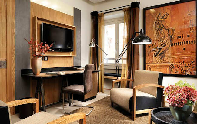 boutique h tel de luxe rome italie babuino 181 suites. Black Bedroom Furniture Sets. Home Design Ideas