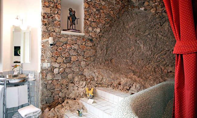 Salle de bain d'une Suite