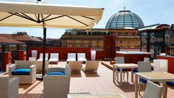 La Ciliegina Lifestyle Hotel : terrasse